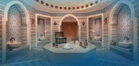 Turkish bath ... feel like a sultan cover