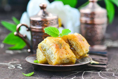 Turkish baklava from Aleppo to Gaziantep, Guinness World Records and World Tables cover