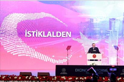 """الرئيس أردوغان يعلن من إسطنبول """"حزمة الإصلاح الاقتصادي"""""""
