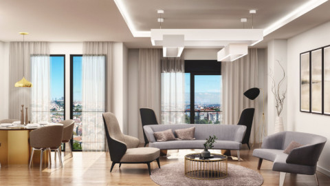 Modern property with lovely Golden Horn view in Istanbul's Eyup Sultan