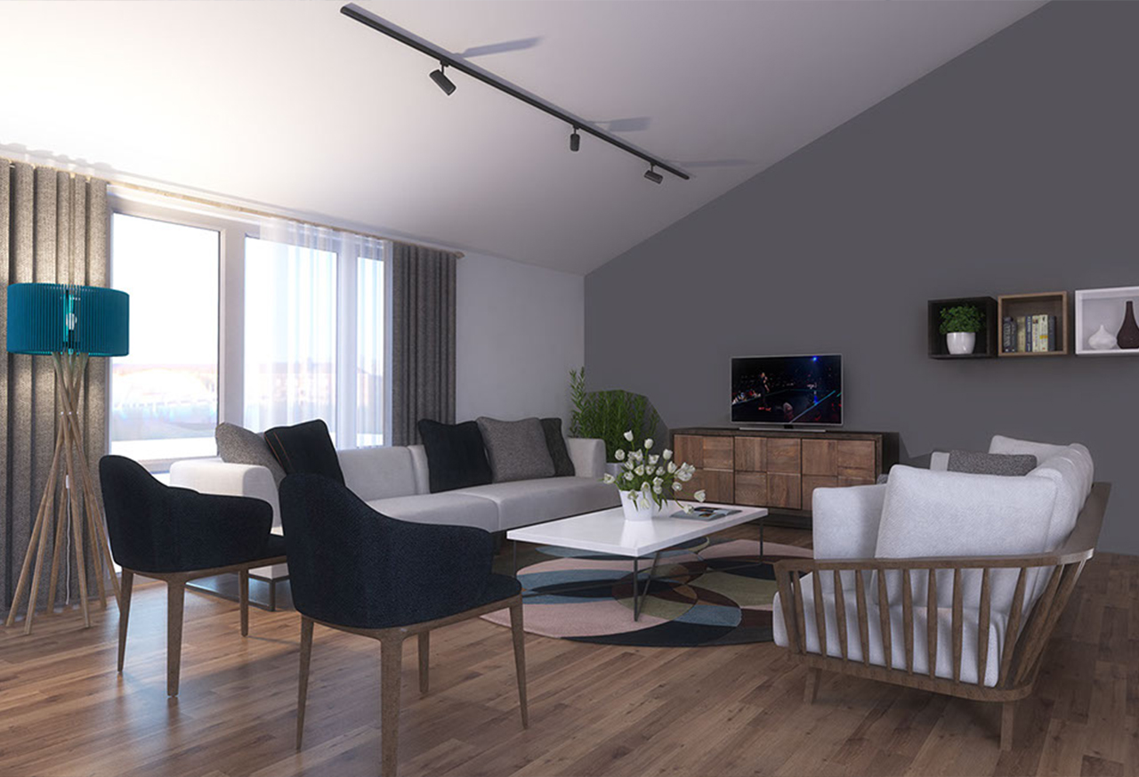 Own your quiet luxury apartment near Taksim Square in the heart of Istanbul