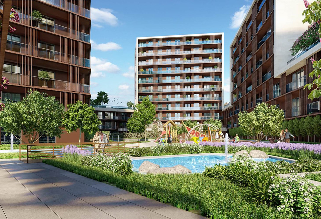 Own your modern apartment in the heart of Istanbul at affordable price