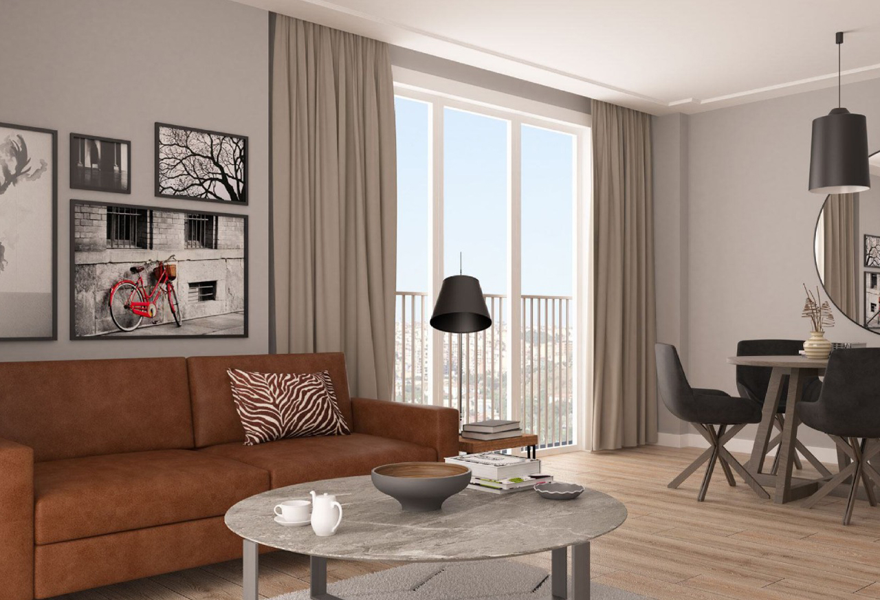 Be one of the 1st investors in quiet luxury apartment in Istanbul's Levent