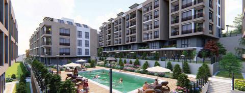 امتلك شقة عائلية فخمة مع إطلالة بحرية في اسطنبول في بيليك دوزو بالقرب من وادي الحياة والمارينا