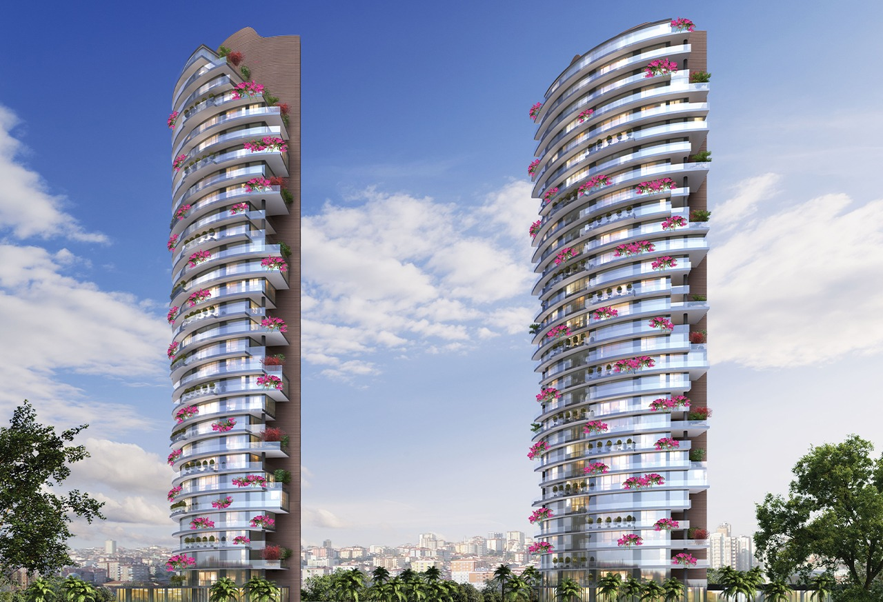 Enjoy sea view from your ready apartment in Istanbul's Kartal