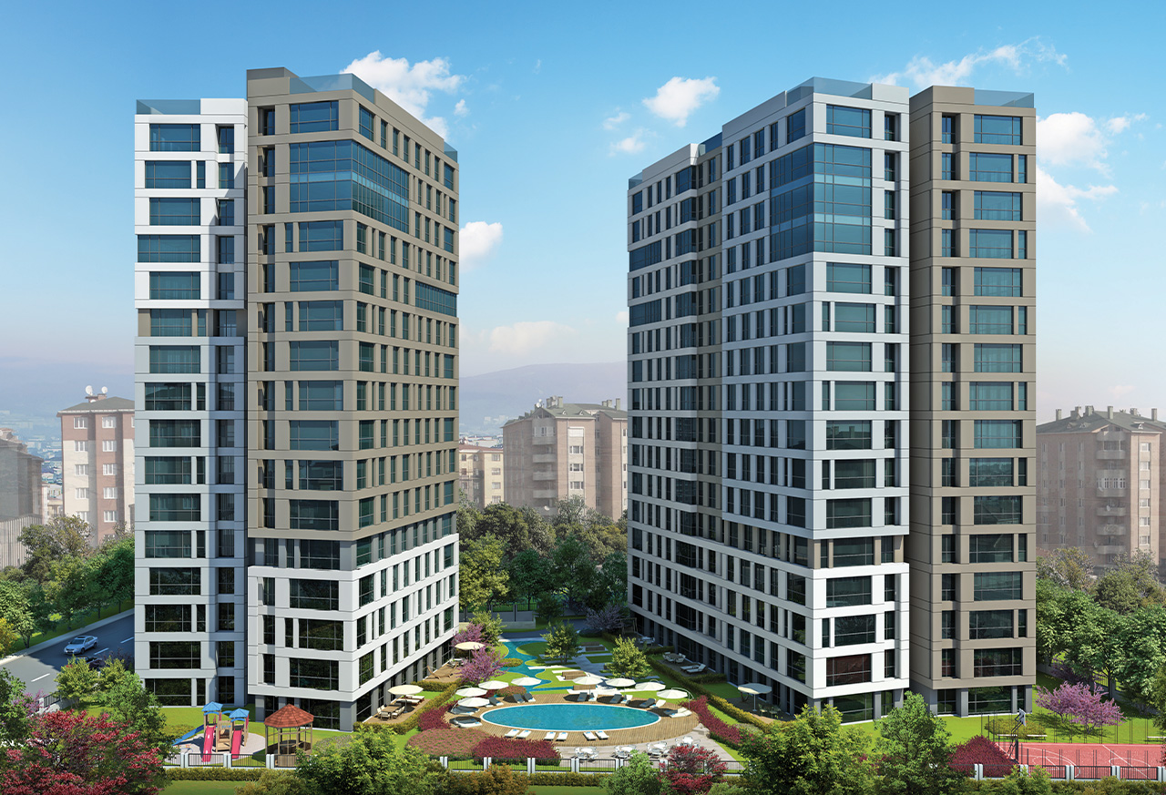 Enjoy sea view of Princes Islands from your apartment in Istanbul's Maltepe